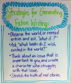 Generating Fiction