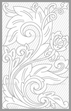 Madura Floral Set vector drawing of madura traditional fl. - Madura Floral Set vector drawing of madura traditional floral set Create - Embroidery Designs, Floral Embroidery, Quilting Designs, Leather Tooling Patterns, Leather Pattern, Leather Carving, Metal Embossing, Wood Carving Patterns, Carving Designs