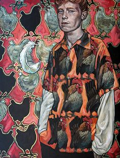 Man with Feather, Belinda Eaton (2014) @maxshimasu