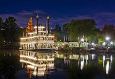 Mark Twain Riverboat at Disneyland!