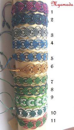 25% discount Feast micro macrame bracelets by por Myamadasv