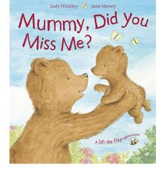 Mummy Bear pretends to be completely lost without her little bear. And when Alice Bear returns from her exciting trip around the garden, bubbling with stories of tigers, sailing boats and tropical islands, Mummy Bear's enormous hug reassures her that of course she's been thinking of and missing her little bear every minute of the day.