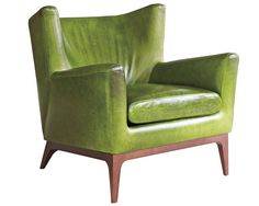 Winging It  Cole Chair by American Leather