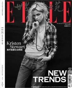 Kristen Stewart Stars in ELLE China September 2016 Cover Story