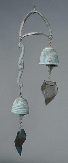 Cast Bronze Paolo Soleri Wind Chime Bell #midcentury #modern #design #michaans