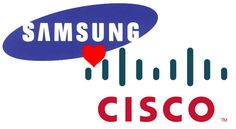 Samsung and Cisco agree to share patents, sue less - http://www.aivanet.com/2014/02/samsung-and-cisco-agree-to-share-patents-sue-less/