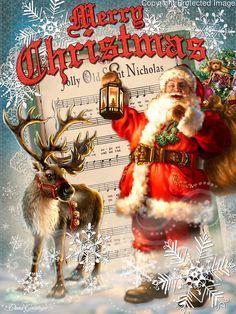 Father Christmas on postcard! Vintage Christmas Images, Old Fashioned Christmas, Christmas Scenes, Christmas Past, Christmas Music, Retro Christmas, Christmas Greetings, Winter Christmas, Father Christmas