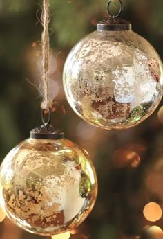 Mercury Balls Decorations 84 Doityourself Ornaments You Can Make Before Christmas