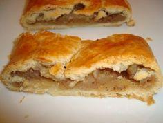 Mürbteig-Apfelstrudel Apple Desserts, Just Desserts, Cake & Co, Brownie Bar, Spanakopita, Butter, Sandwiches, Food And Drink, Sweets