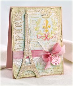 here's another pretty card by Debbie
