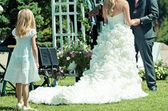 Bridal Bliss Designs Sunday Rose Style with low back