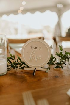 Wood Table Numbers, Wedding Table Numbers, Wedding Ceremony Decorations, Table Decorations, White Wood Table, Acrylic Table, Wooden Tables, Laser Cut Signs, Place Card Holders