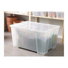 SAMLA Box  - IKEA - 13.99 -  für Winter- bzw. Sommerklamotten