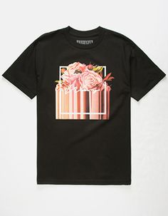 WAVY Melt Mens T-Shirt Black