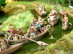 Ancient German River Fleet 1/72