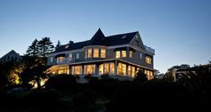 Situated in a quiet neighborhood of grand and stately summer mansions on Ocean Avenue, this oceanfront hotel is just a five minute drive from the center of Kennebunkport's Dock Square.
