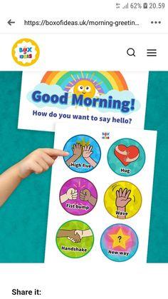 Fist Bump, High Five, Say Hello, Good Morning, Hug, Chart, Sayings, Give Me 5, Buen Dia