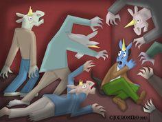 "A Unicorn a Day ""Zombie Unicorn"""