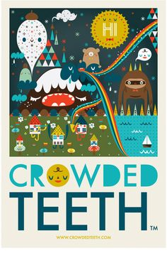 Michelle Romo for Crowded Teeth