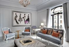 Very Paris - 3 Dior suite at the St Regis NYC