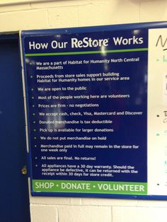 ReStore-Habitat for Humanity North Central Massachusetts in Leominster, MA