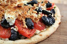 Tomato, Olive and Goat Cheese Galette  http://www.ezrapoundcake.com/archives/8462