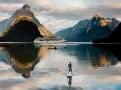 Located in New Zealand's Fiordland National Park, Milford Sound is an otherworldly sight.