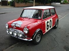 EBL 56 C driven to a Coupe D'Or by Paddy Hopkirk on the 1965 Alpine rally .