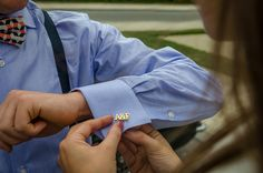 $199 Custom Cufflinks - Men accessories - Gift Ideas for boyfriend