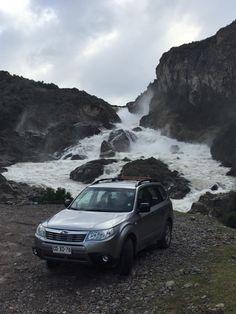 Leonardo Zapata. Salto del Río Ibañez. Región de Aysen.