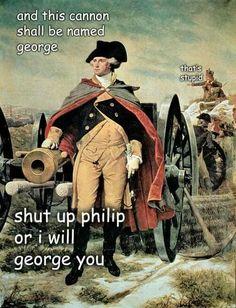 Adventures with George Washington
