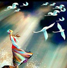 """zeynep-ylmz: """" Gökler bugün de uzaklarda, Kuşların uçtuğunu arzederim. En büyük sessizlikler arkasından, Kalbimin vurduğunu arzederim. Fazıl Hüsnü Dağlarca """""""