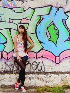 Urban by Saricientta #graffitiart #mural