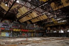 Batcave Ceiling by abandonednyc, via Flickr