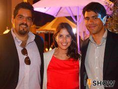 Francisco Contardo, Elisa García Huidobro y Roberto Mímica. Enjoy The Sunset en Enjoy Coquimbo
