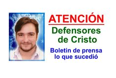 VAMOS EN DEFENSA DE ESTE GRAN BENEFACTOR DE LA HUMANIDAD! Christ, Lineman, Lets Go