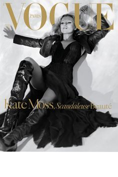 Kate Moss - VOGUE cover.