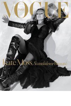 PARIS VOGUE - DECEMBER 2005 / JANUARY 2006 COVER MODEL - KATE MOSS (VERSION 4)