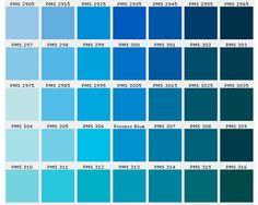 Gama De Azules 1 Ivinidito En 2018 Pinterest Color Blue Y - Gama-de-azul