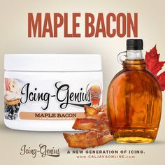 Paired Pack - Maple Bacon Icing Genius, CMC, & FREE 2lb FondX