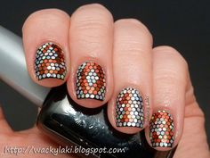 I am honestly just ridiculously impressed by this manicure.