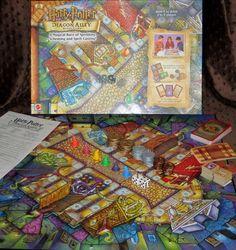 Harry Potter Diagon Alley Board Game 2001 Mattel 100% Complete GUC RET #Mattel