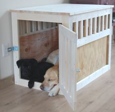 Combination end table & dog bed. I saw   one of these that was WAAAY too expensive, and gave up on the idea. THIS would   be so fun to make and then we could put the gerbil cage on   top!!!