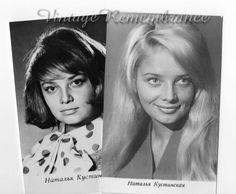 Soviet Russian Actress Natalia Kustinskaya Set 2 from ArtByTatianaZ by DaWanda.com