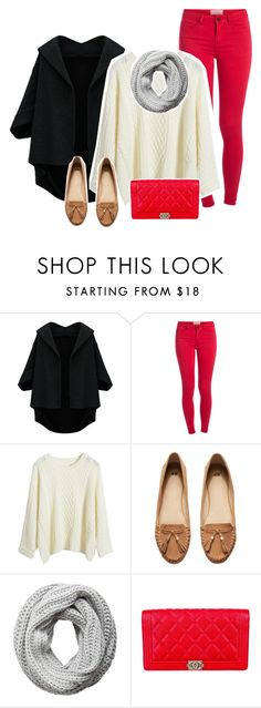 """""""Happy Boxing Day!!"""" by qiany1 ❤ liked on Polyvore featuring Pieces, H&M and Chanel"""