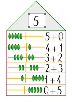 La maison des nombres - Les outils de Malinous Preschool Learning Activities, Preschool Math, Teaching Math, First Grade Worksheets, 1st Grade Math, School Games, I School, Year 1 Maths, Math Wall