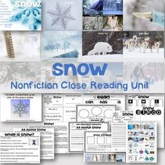 Want to introduce close reading to your young students while growing their schema and vocabulary simultaneously? This Close Reading Visual Vocabulary Unit will do just that. Show the slideshow to students first- beautiful real-life photographs and simple vocabulary words to help grow schema and connect with the vocabulary in the close reading texts.