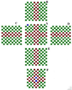 beaded boxes patterns | christmas beading patterns