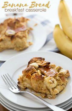 Banana Bread Breakfa