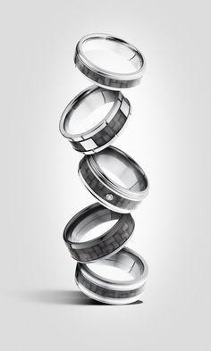 Carbon fiber men's r #wedding #jewelry #rings https://www.barskydiamonds.com